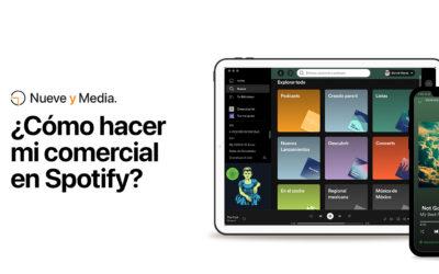 ¿Cómo hacer mi comercial en Spotify?
